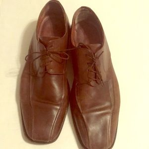 Johnston & Murphy men's leather dress shoes 9.5